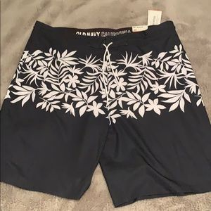 Old Navy California Men's Swim Shorts Size 40 Gray